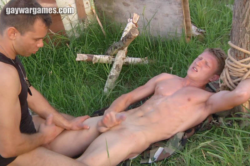 Man Tied And Forced To Cum
